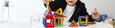 Konstruktionslegetøj og byg-selv-legetøj