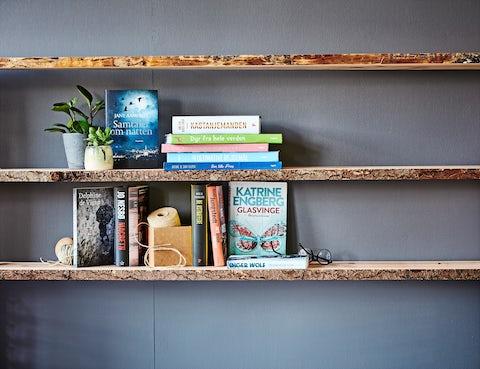 Stort udvalg af bøger