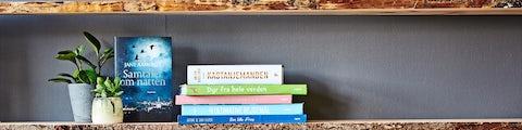 Stort udvalg af bøger i Bilka
