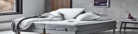 Lækre  elevationssenge til nattesøvn i soveværelset