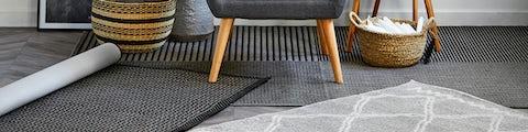 Løse tæpper til boligindretningen