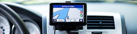 GPS montering i bilen