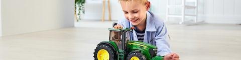 John Deere legetøjstraktor til de små