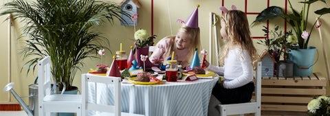 Gurli Gris temafest til børnefødselsdagen