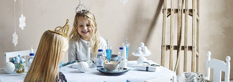 Hold en vinterprinsessefest