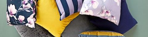 Lækre pyntepuder til dekoration i hjemmet