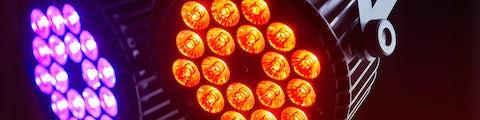 Lysudstyr til fester