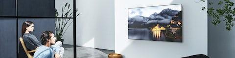 Fladskærms tv til tv- og filmoplevelser i hjemmet
