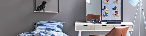 Møbler og indretning til teenageværelset