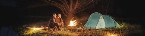 Easy Camp telt til overnatningen i naturen