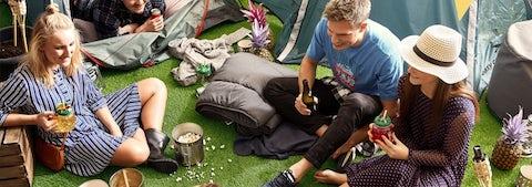 Få inspiration og ideer til telttur