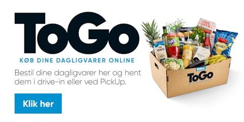 Køb dine dagligvarer på BilkaToGo