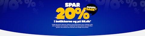 Magiske dage hos BR! Spar 20% i butikkerne og på BR.dk