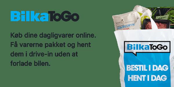 Køb dine dagligvarer online på BilkaToGo