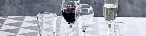 Glas til alle drikkevarer og lejligheder