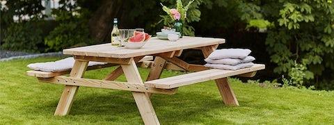 Bord- og bænkesæt til din have