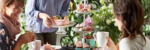 find opskrifter og inspiration til tea party