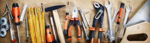 På bilka.dk finder du forskelligt håndværktøj til værkstedet